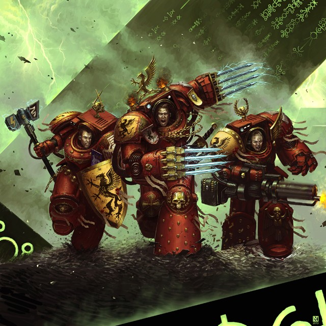 [W40K] Collection d'images : Space Marines - Page 4 Nichol11