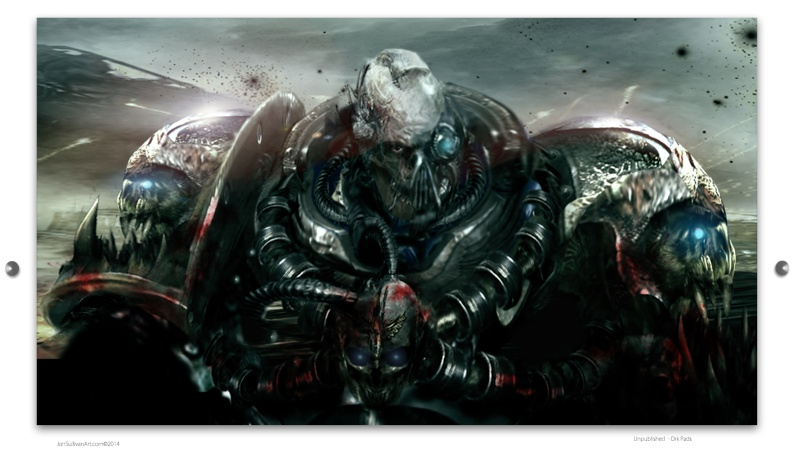 [W40K] Collection d'images : Space Marines du Chaos - Page 3 Ork_pa10