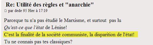 """Utilité des règles et """"anarchie"""" - Page 4 Dede13"""