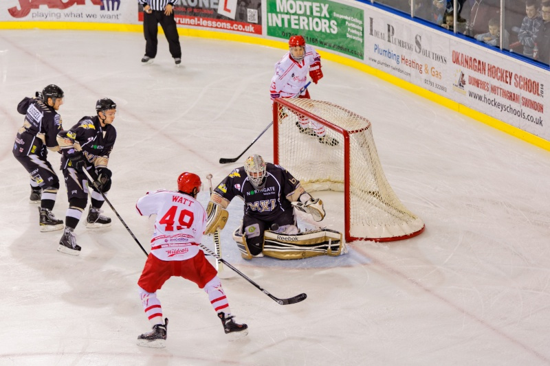 Hockey sur glace - Swindon Wildcats vs. Milton Keynes Lightning Fg5c0513