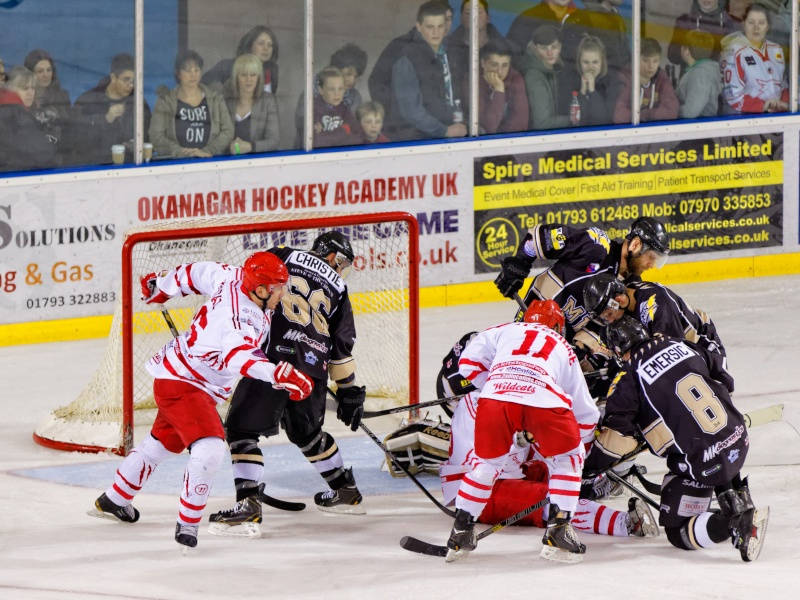 Hockey sur glace - Swindon Wildcats vs. Milton Keynes Lightning Fg5c0611
