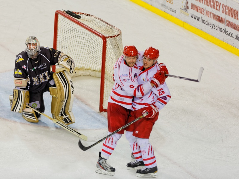 Hockey sur glace - Swindon Wildcats vs. Milton Keynes Lightning Fg5c0711