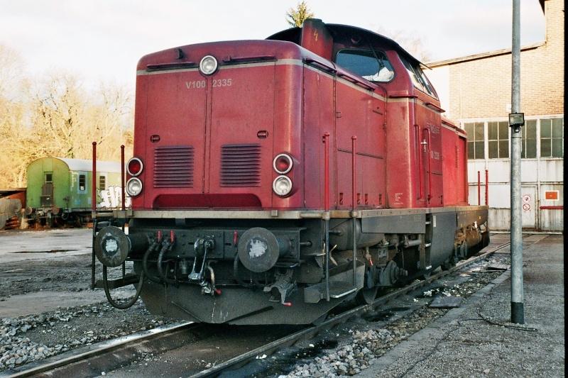 Die Baureihe V100 der DB - 211-213 2014-012