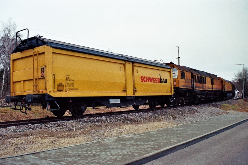 Schienenschleifzug der Firma Schweer 2014-015