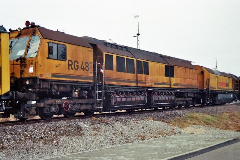 Schienenschleifzug der Firma Schweer 2014-016