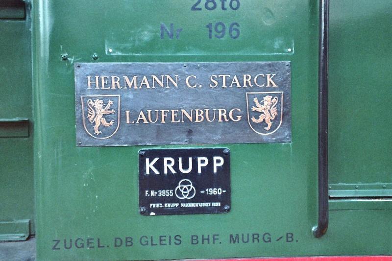 Werkslok Typ 220 PS von Krupp 2014-040
