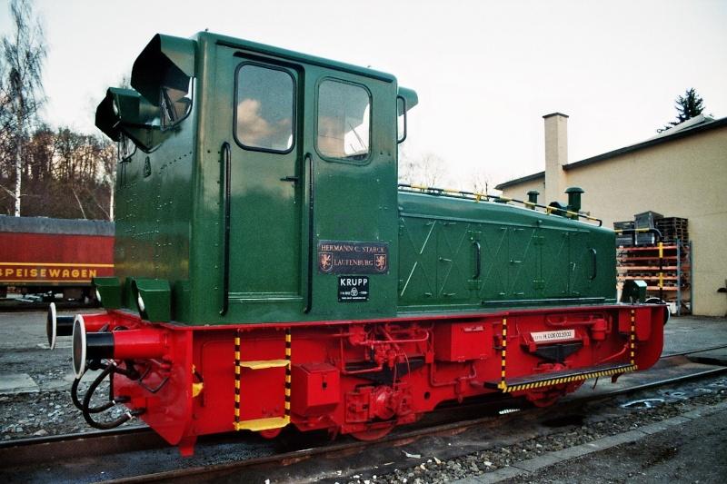 Werkslok Typ 220 PS von Krupp 2014-045