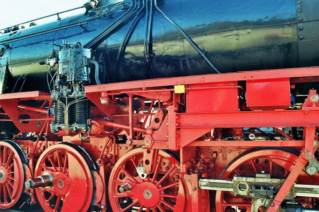 Baubericht Lok der Baureihe 52, M 1:16 2014-048