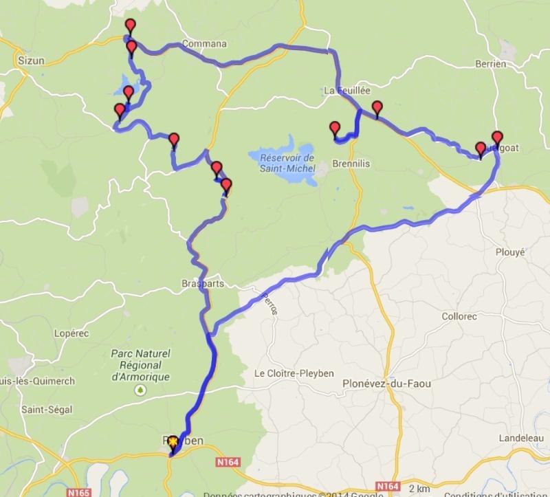 Balade dans le Finistere Nord sur deux jours  Mont_d10