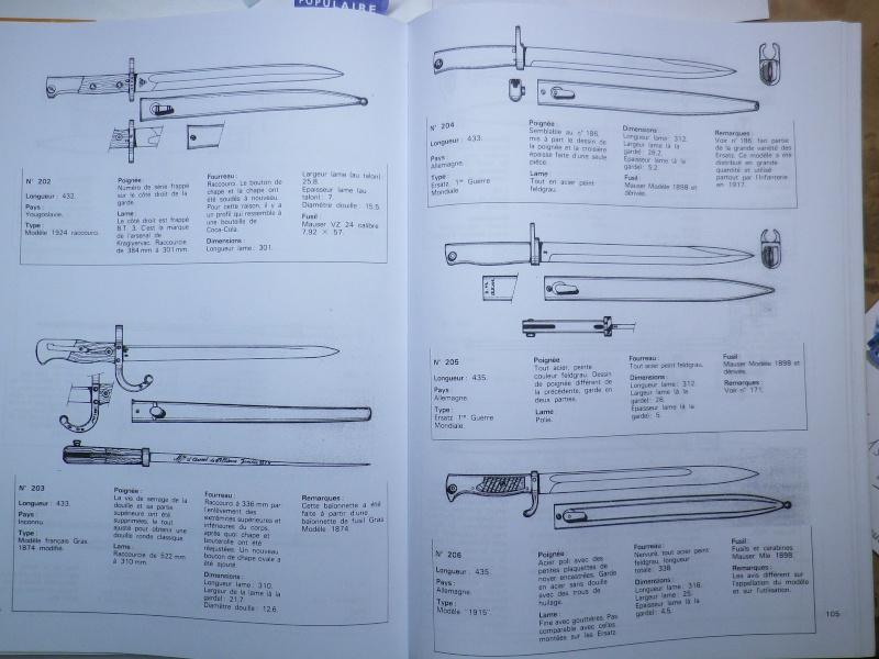 Description des Baionnettes Imgp6125