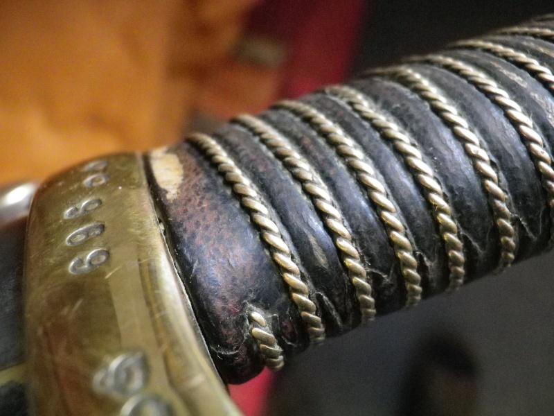 Restauration d'un sabre d'artillerie modèle 1829 Imgp7126