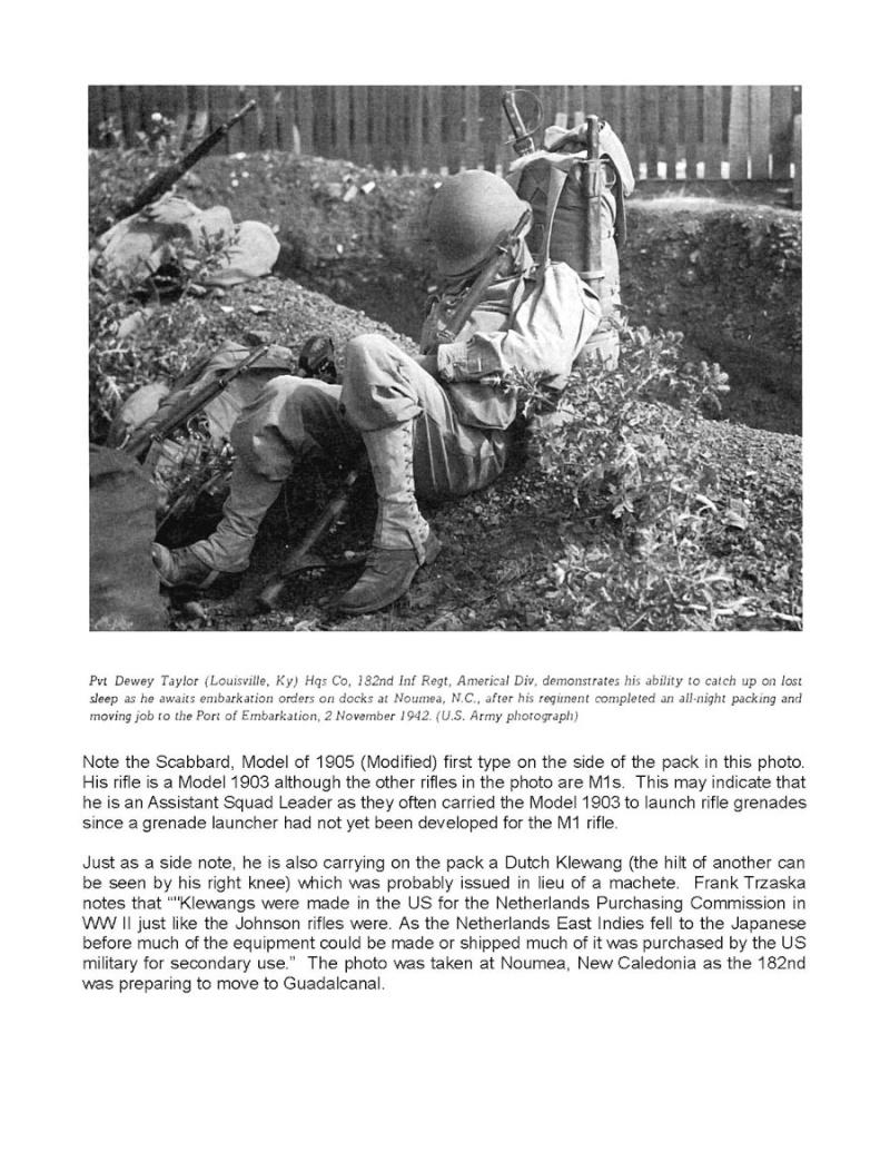 Ma collection: Baïonnettes américaines et Cuirassier français ... MAJ page 18 - Page 9 Noumea10