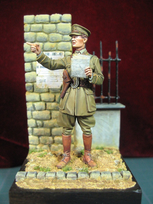 lieutenant royal engineers - tommy's war - 54mm Img_3211