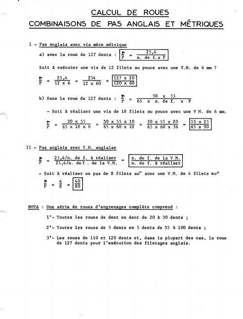 Réglage des avances Method19