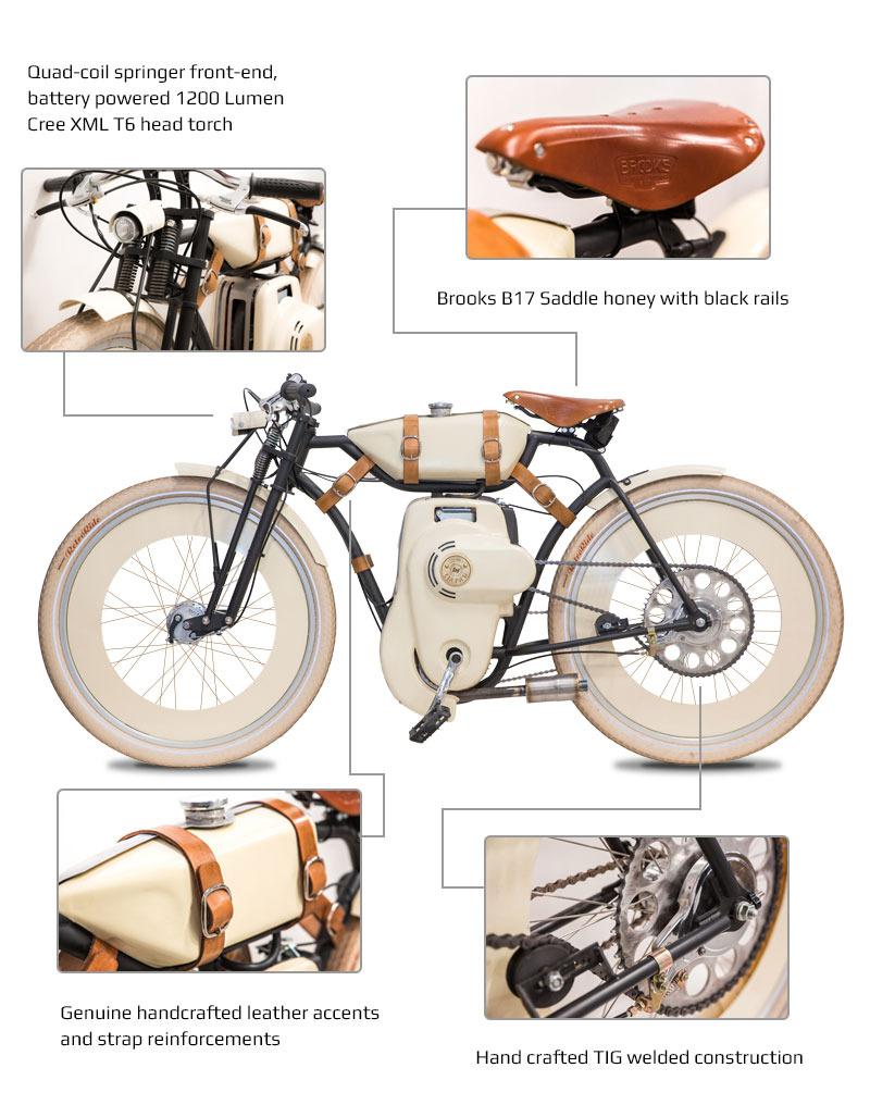 Honda GXH50 49cc  au design d'antan Conten11