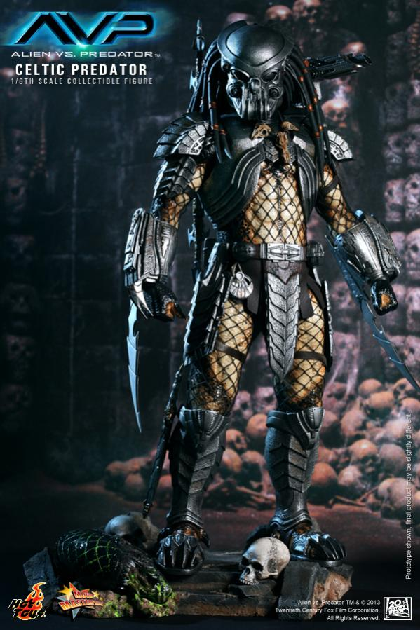 Hot Toy / ALIEN VS PREDATOR CELTIC PREDATOR 1/6 SCALE FIGURE  / 1 ou 2ème trimestre 2014 1-hot_10