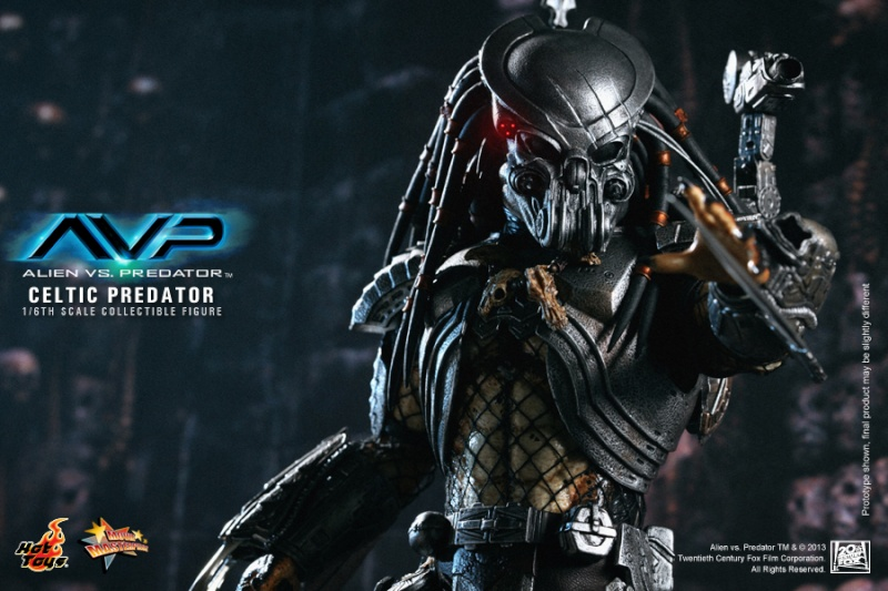 Hot Toy / ALIEN VS PREDATOR CELTIC PREDATOR 1/6 SCALE FIGURE  / 1 ou 2ème trimestre 2014 10-hot10