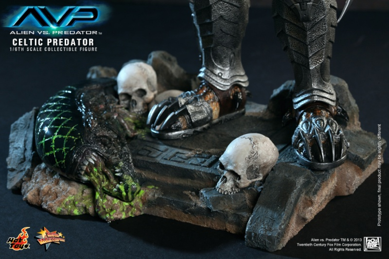 Hot Toy / ALIEN VS PREDATOR CELTIC PREDATOR 1/6 SCALE FIGURE  / 1 ou 2ème trimestre 2014 14-hot10