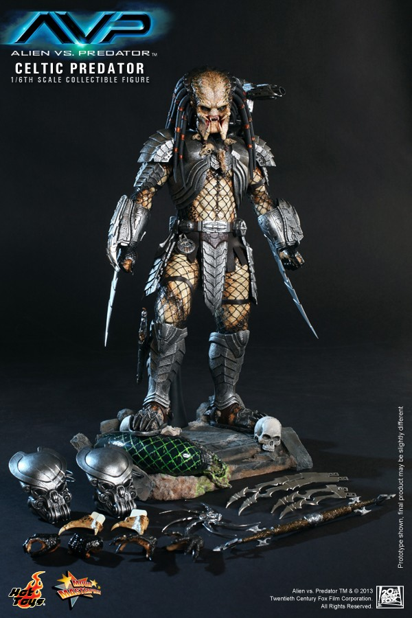 Hot Toy / ALIEN VS PREDATOR CELTIC PREDATOR 1/6 SCALE FIGURE  / 1 ou 2ème trimestre 2014 16-hot10