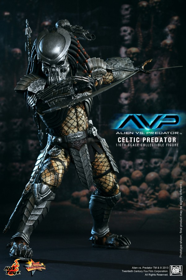 Hot Toy / ALIEN VS PREDATOR CELTIC PREDATOR 1/6 SCALE FIGURE  / 1 ou 2ème trimestre 2014 2-hot_10