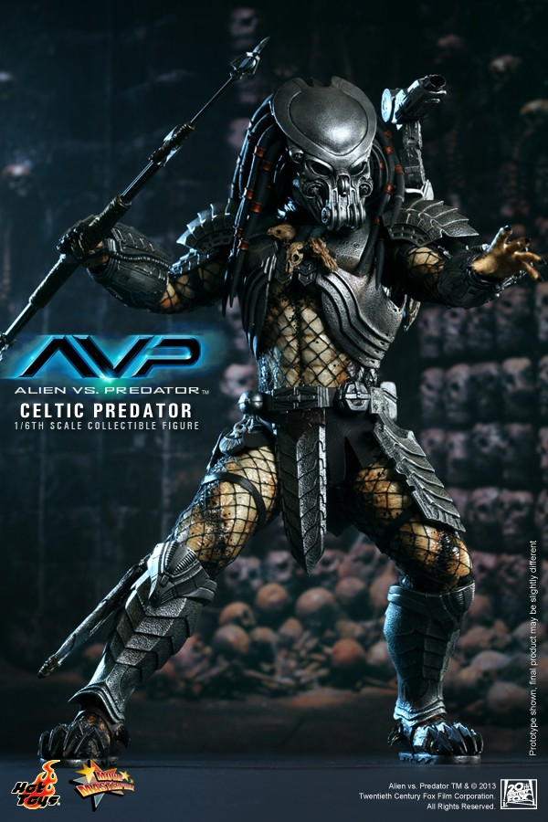 Hot Toy / ALIEN VS PREDATOR CELTIC PREDATOR 1/6 SCALE FIGURE  / 1 ou 2ème trimestre 2014 3-hot_10