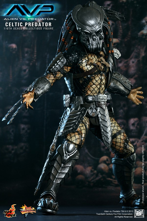 Hot Toy / ALIEN VS PREDATOR CELTIC PREDATOR 1/6 SCALE FIGURE  / 1 ou 2ème trimestre 2014 4-hot_10