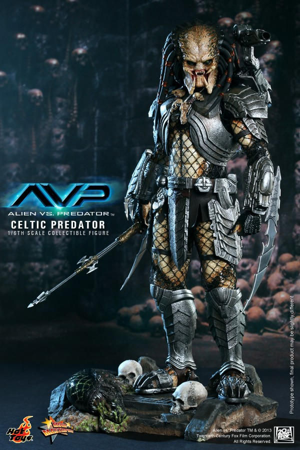 Hot Toy / ALIEN VS PREDATOR CELTIC PREDATOR 1/6 SCALE FIGURE  / 1 ou 2ème trimestre 2014 7-hot_10