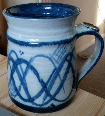 Large Tankard - Jim Wood, Trevillador Pottery  Dscf1810