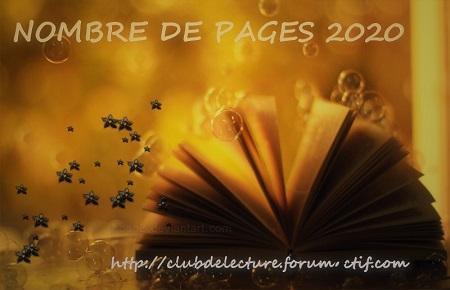 Challenge NOMBRE DE PAGES 2020 Nbre_p10