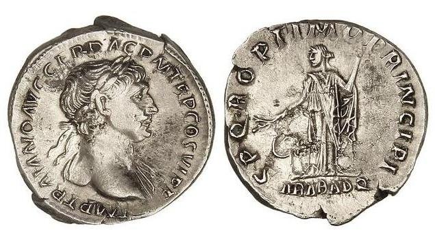Identification RSC d'un denier de Trajan Captur11