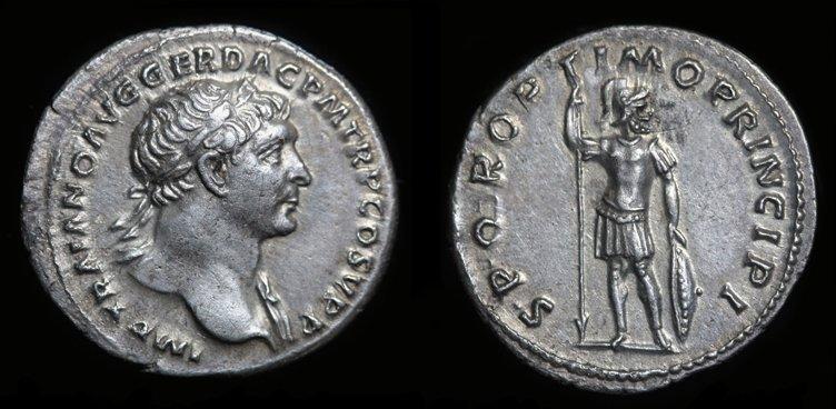 Identification RSC d'un denier de Trajan Denier15