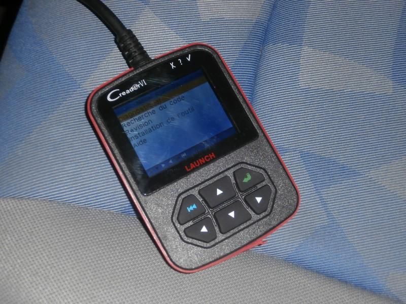 Outil de diagnostics OBDII P1190012