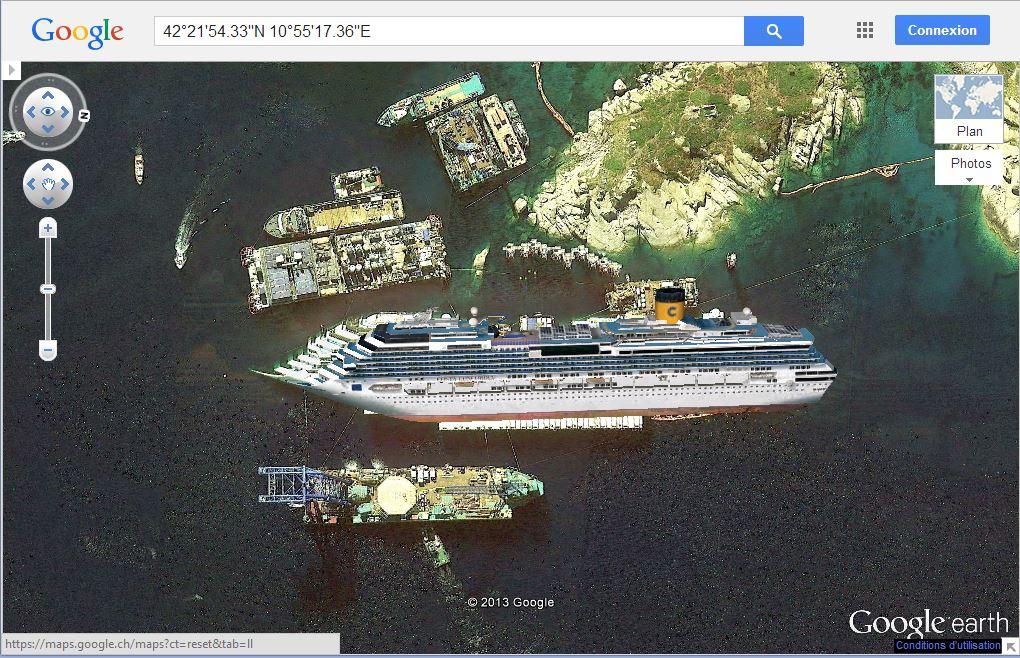 L'épave du Costa-Concordia. Un paquebot géant s'échoue en Italie - Page 4 Gegm10