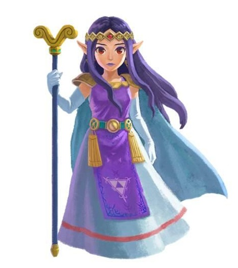 The Legend of Zelda: A Link Between Worlds Hilda10