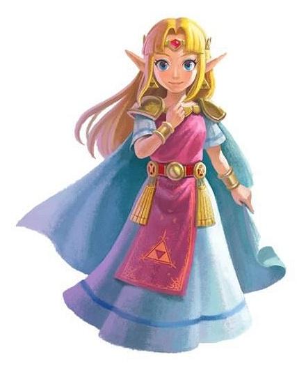 The Legend of Zelda: A Link Between Worlds Zelda10