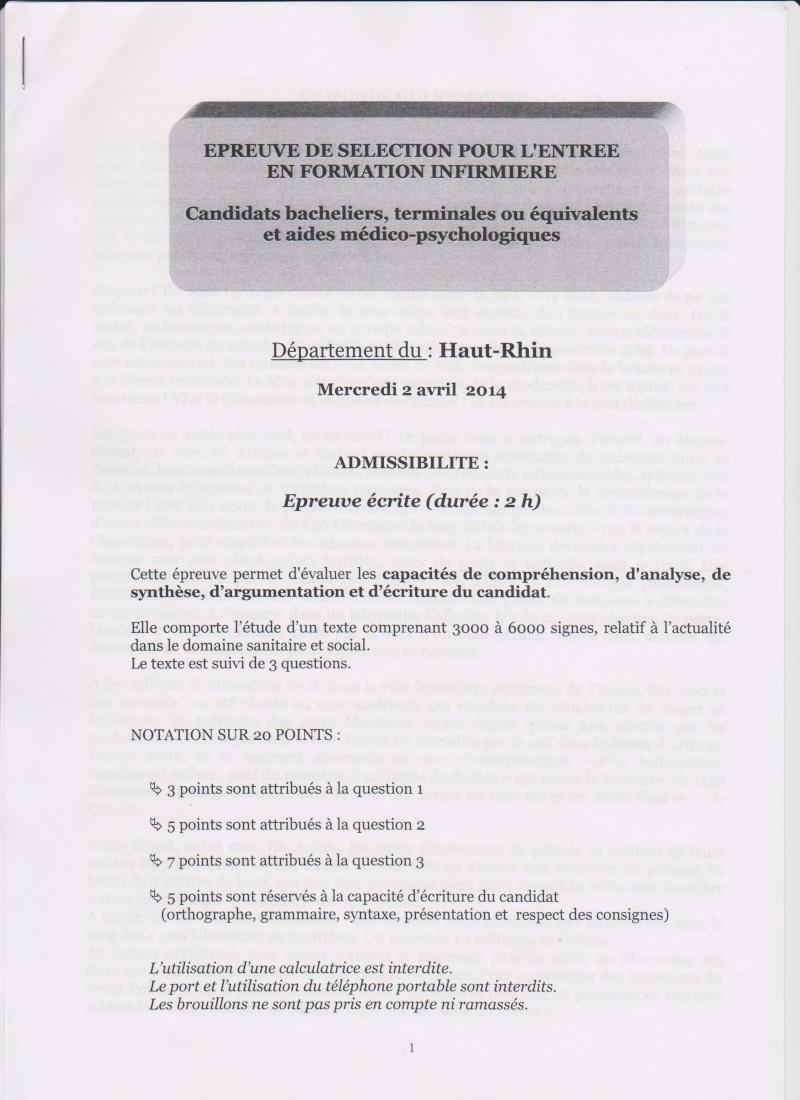 "CONCOURS IFSI 2014: HAUT-RHIN 68: ""CE MONDE QUI S'EMMURE"" 1_mulh10"