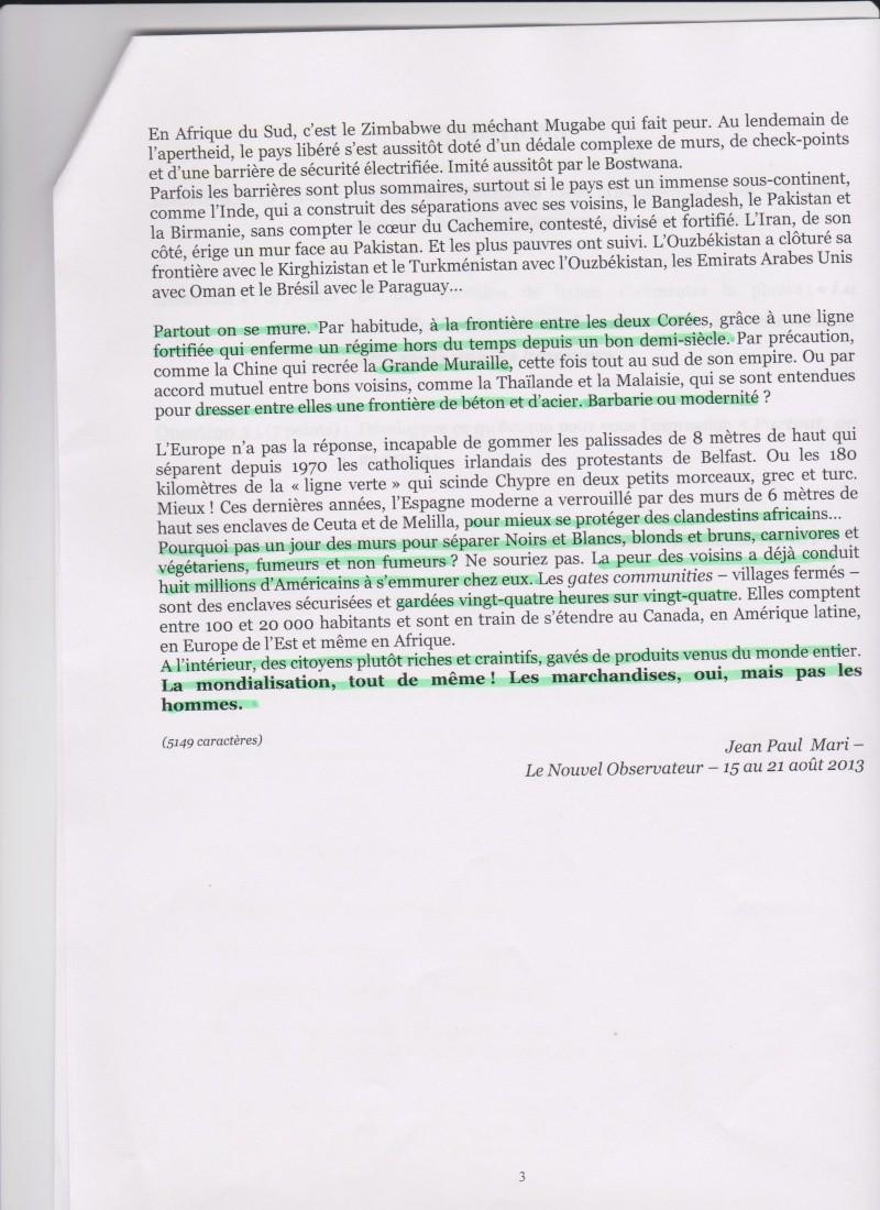 "CONCOURS IFSI 2014: HAUT-RHIN 68: ""CE MONDE QUI S'EMMURE"" 3_mulh10"