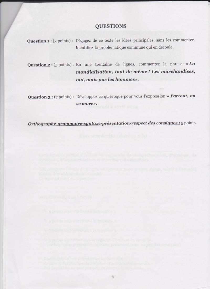 "CONCOURS IFSI 2014: HAUT-RHIN 68: ""CE MONDE QUI S'EMMURE"" 4_mulh10"