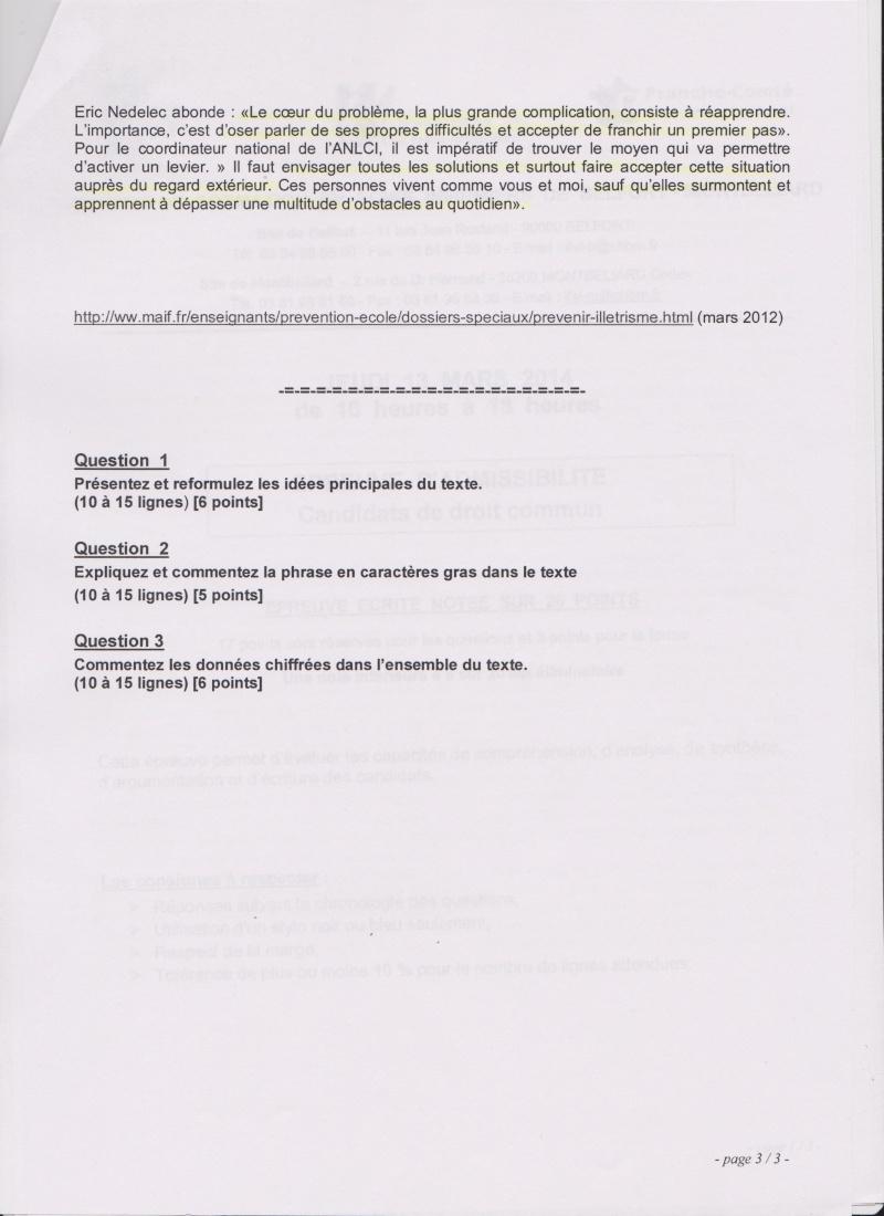 CONCOURS IFSI 2014: BELFORT MONTBÉLIARD  LE 13 MARS 2014 Belfor12