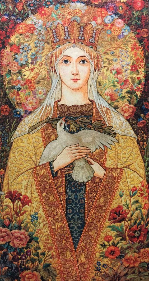 Marie, mère du Christ Blesse10