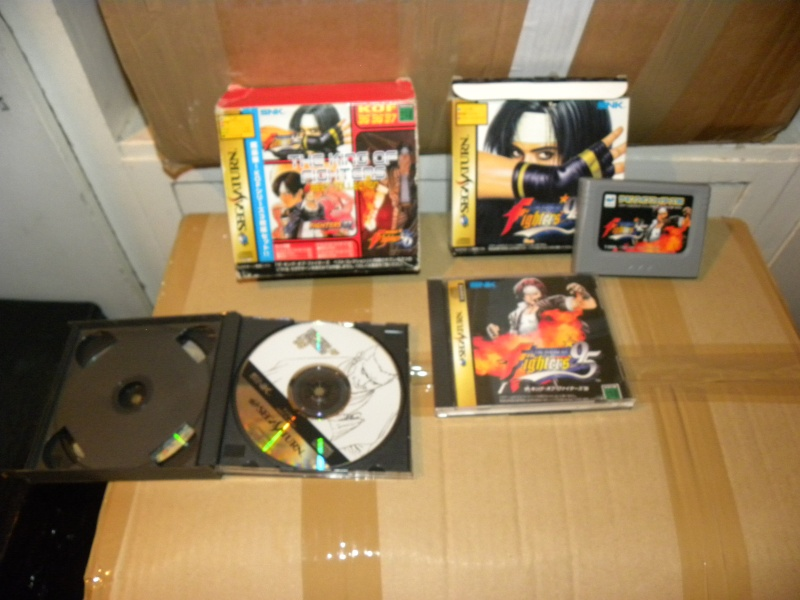 VDS Sega saturn The King of Fighter KOF BEST COLLECTION 95 96 97  Dscn9511