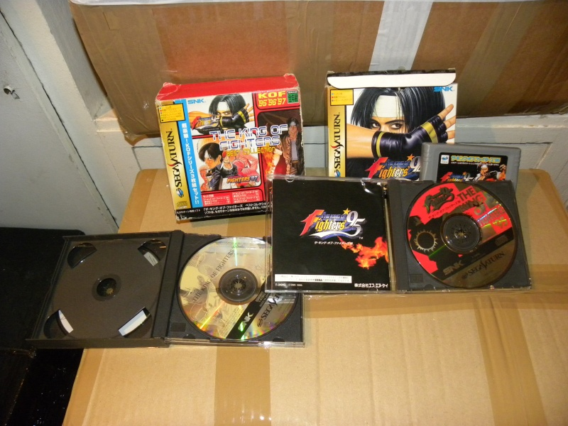 VDS Sega saturn The King of Fighter KOF BEST COLLECTION 95 96 97  Dscn9512