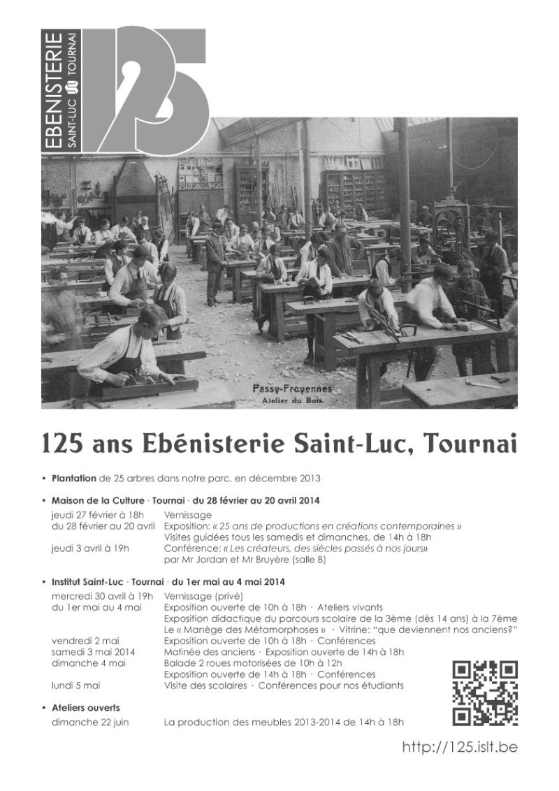 Ebénisterie : expo, conférence, ateliers ouverts à Tournai (Belgique) Affich10