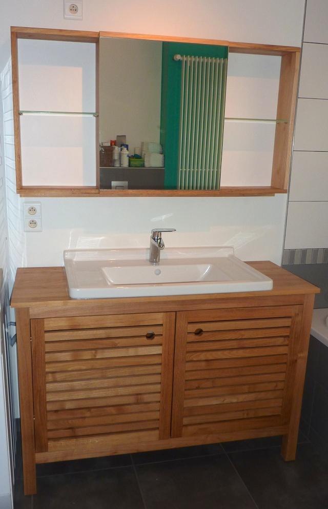 Meubles de salle de bain en robinier - Page 4 Ensemb12