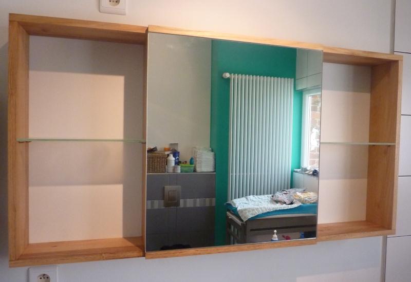 Meubles de salle de bain en robinier - Page 3 Face11