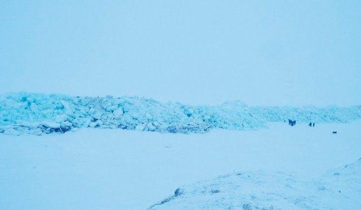 Russie: une vague de glace géante formée dans la Tchoukotka  Vague_10