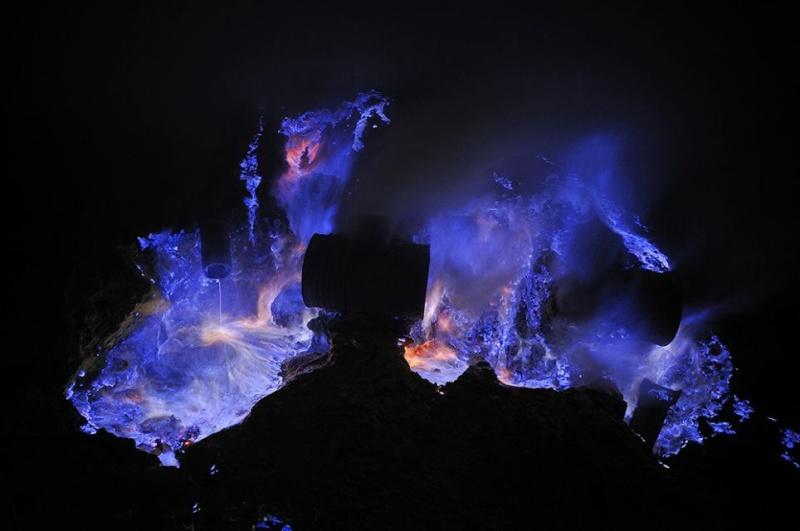 Le Vocan de KawahIjen Volcan12