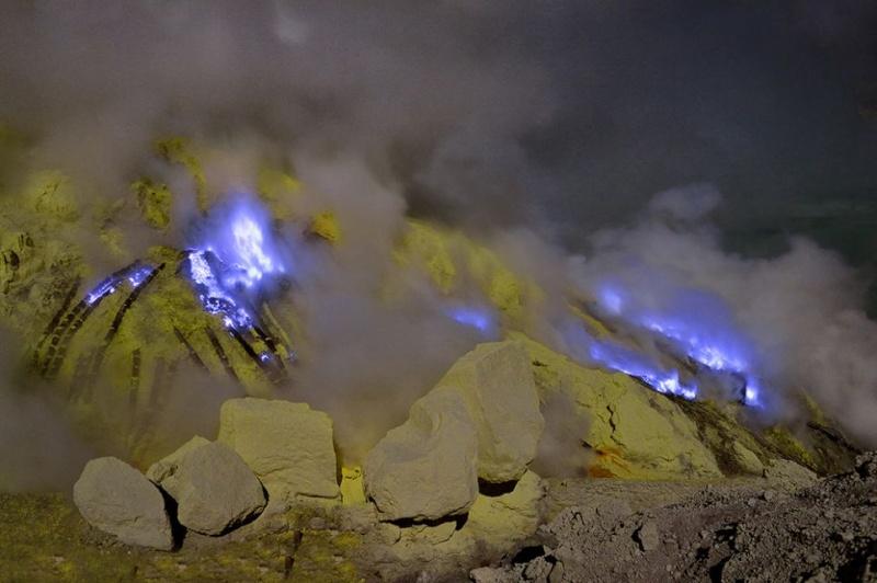 Le Vocan de KawahIjen Volcan13
