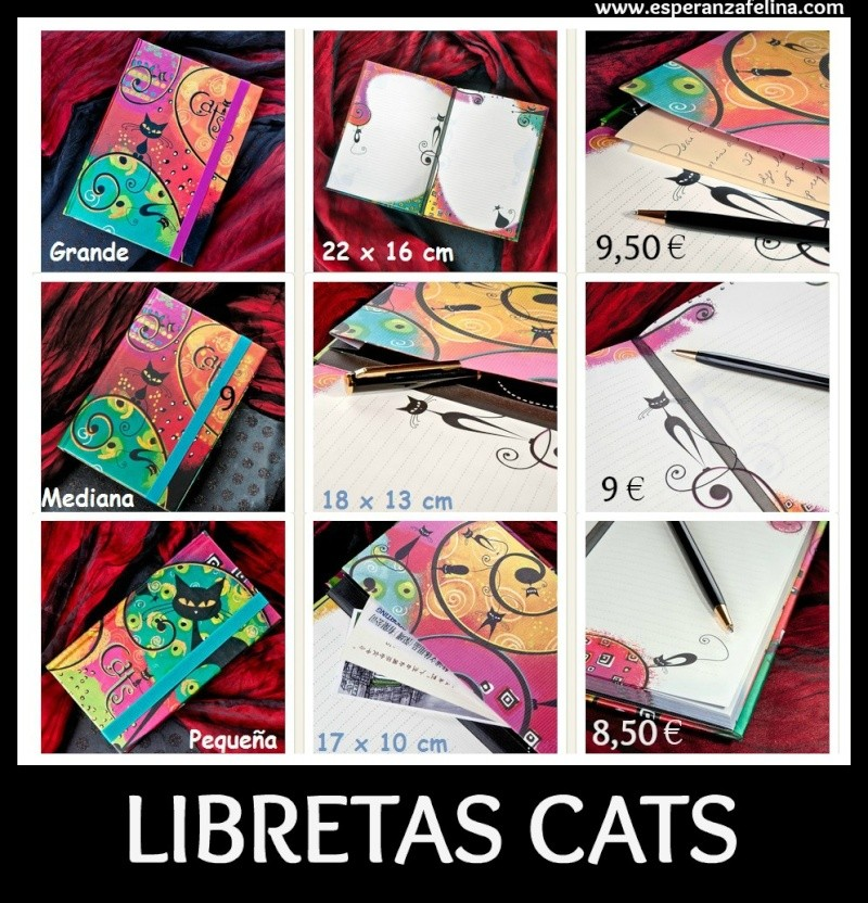 AGENDA Gatos 2014 , LIBRETAS, CALENDARIOS Y TARJETERO Libret10