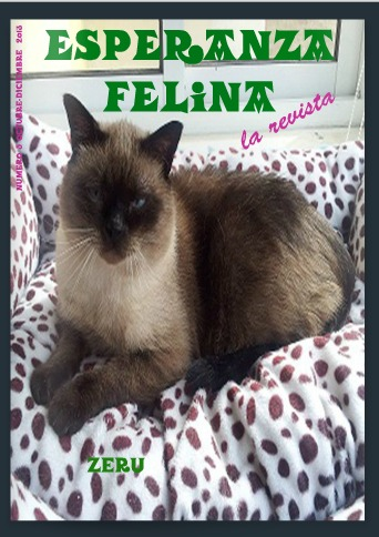 Revista Esperanza Felina. Quinto número Portad10